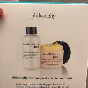 Philosophy Microdelivery Peel Kit 4oz sizes